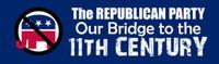 Republican Party, Bridge To The 11th Century Bumper Sticker