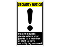 ANSI Security Notice If Alarm Sounds 1