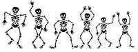 Skeleton Family Decal Pack