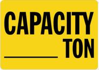 Capacity ___ Ton