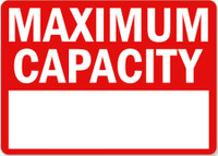 Maximum Capacity (With Fillable Area)