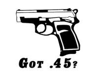 Got .45 Decal