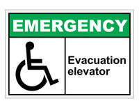 ANSI Emergency Evacuation Elevator