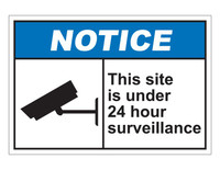 ANSI Notice This Site Is Under 24 Hour Surveillance