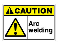 ANSI Caution Arc Welding