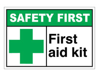 ANSI Safety First First Aid Kit