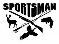 Sportsman Hunt Decal