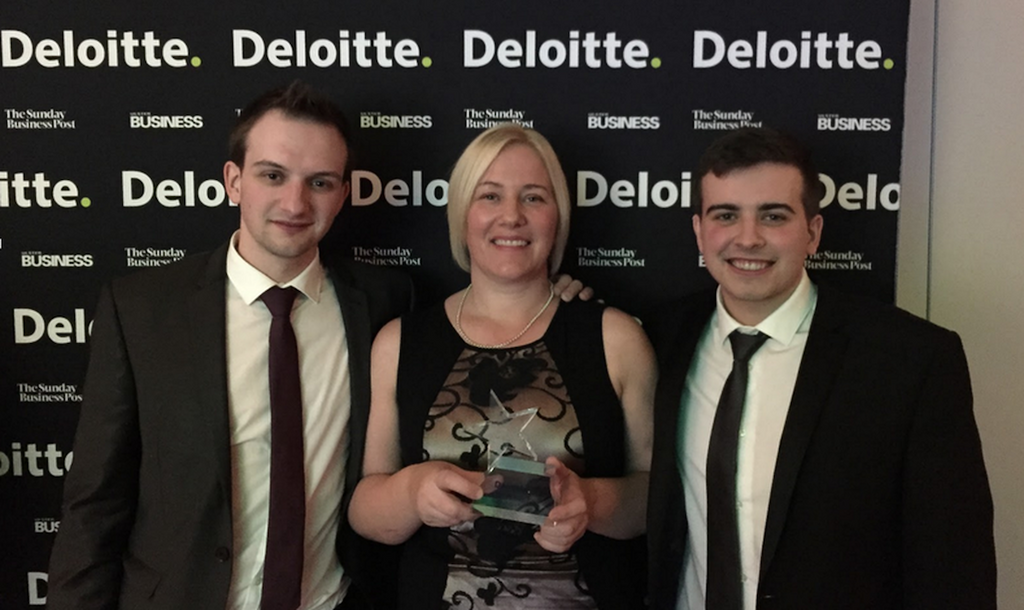 Ozaroo wins NI's fastest-growing startup award at Deloitte Technology Awards 2014