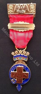 Rose Croix (18th) Past Most Wise Soveriegn Breast Jewel