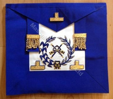 Past  Grand  Officers Aprons  with Wreath