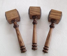 Set of 3 Thor  style Gavels