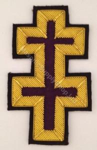 Knight Templars Perceptors Badge  Large  PAIR
