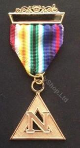 Past Commander Noah Rainbow Jewel  engraved   JWL-RAM-PCN-G