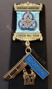 Custom Lodge Past Masters Jewels