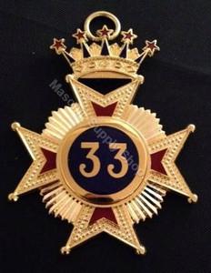 Scottish Rite 33rd Collar Jewel UK