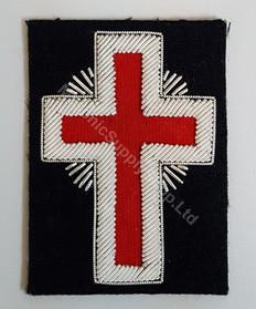 Knight Templars  Badge   Crimsom