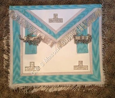 Silver PM Apron  with  Fringe