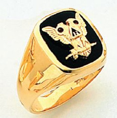 GOLD SCOTTISH RITE RING HOM60476NE-X  HOM60476NE-X