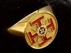 Scottish Rite  32nd Degree  Ring  GOLD             RING-SR32-PM