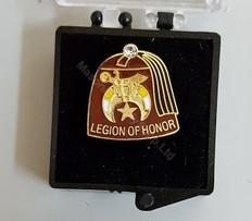 Shrine Legion of Honor Lapel Pin
