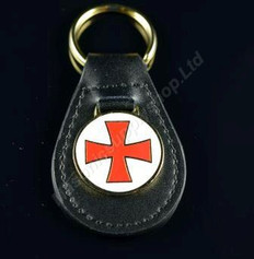 Knight Templar Key Ring