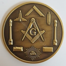 Masonic Presentation Coin-1
