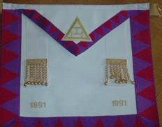Centennial   Royal Arch Companion's Apron