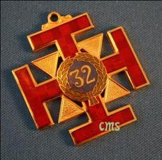 Scottish Rite 32nd Degree  Collar Jewel