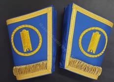 Grand Lodge Officers Cuffs  Emblem in Circle