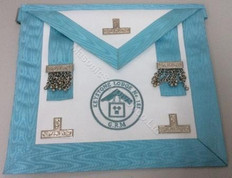 PM  Apron with Lodge Badge