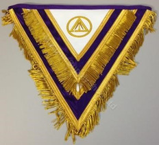 Cryptic Rite Royal & Select Council Aprons  WEST