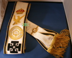 Red Cross of Constantine Sash