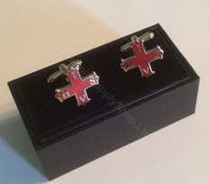 Cufflinks Red Cross of Constantine