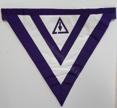 Cryptic Rite Members Apron WEST