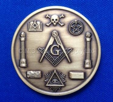 Masonic Presentation Coin