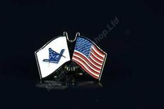 U.S Flag & Masonic Flag