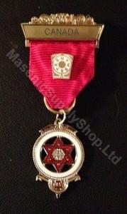 Royal Arch Companion Jewel Red
