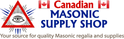 Masonic Supply Shop Canada
