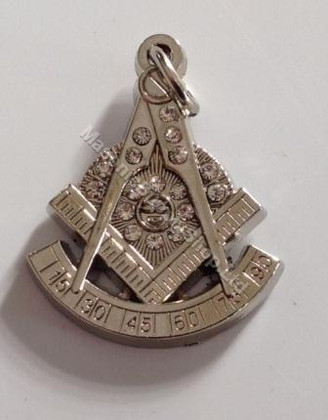 Masonic Past Masters  Emblem  Pendant Steel
