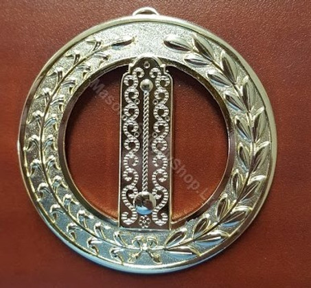 Grand  Junior  Wardens Collar Jewel  Plumb Rule
