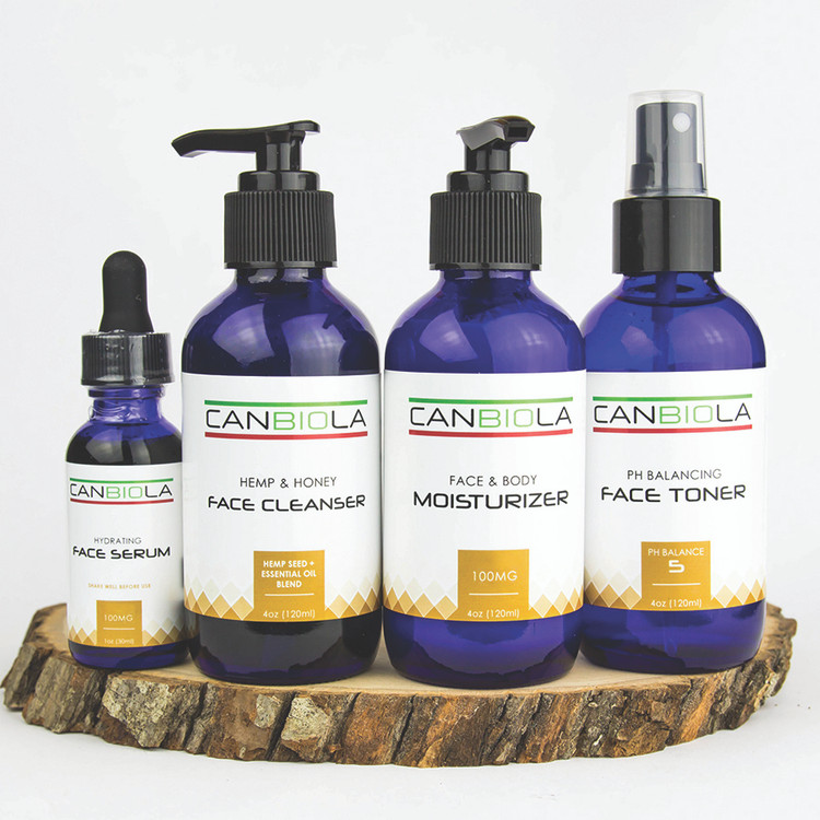 Canbiola Skincare Kit for Face and Body