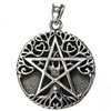 Sterling Silver Small Tree Pentacle Pendant