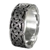 Large Woven Celtic Knot Band