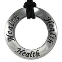 Health Inspirational Motivational Saying Pendant Necklace Jewelry