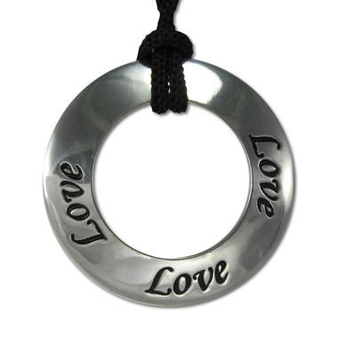 Love Motivational Saying Pendant Necklace