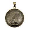 Bronze Sigil of Archangel Samael Enochian Talisman Amulet Angel Jewelry