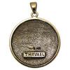 Bronze Sigil of Archangel Thavael Enochian Talisman Amulet Angel Jewelry