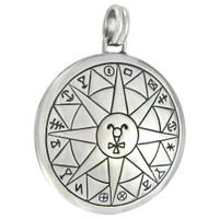 Sterling Silver Talisman for Safety in Travel