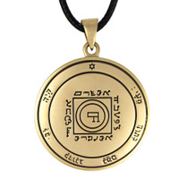 Bronze Fifth Pentacle of Venus Love Talisman