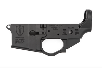 Spikes Tactical crusader Lower Receiver, Spikes Tactical crusader stripped Lower, Spikes Tactical, Spikes